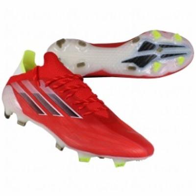 エックス スピードフロー.1 FG レッド×コアブラック 【adidas|アディダス】サッカースパイクfy6870