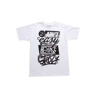 アクティブウェア トップス メンズ ネフ Neff Easy Tee (white) S13708-WHT