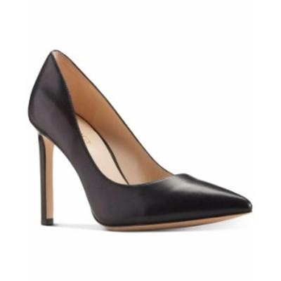 ナインウェスト レディース パンプス シューズ Women's Tatiana Pointy Toe Pumps Black Leather