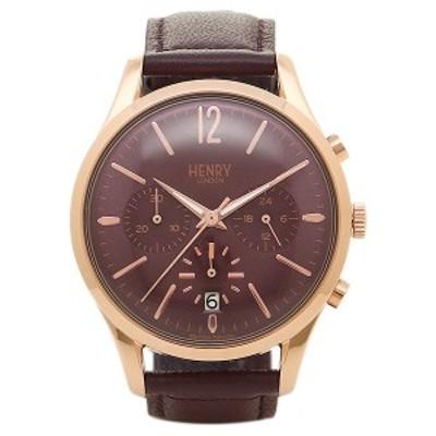ヘンリーロンドン 腕時計 HENRY LONDON HL39-CS-0092 パ-プル ロ-ズゴ-ルド