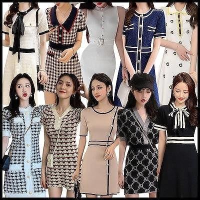 3枚+1枚new夏の大販促品質保証韓国ファッション ワンピース レディース 大人可愛い ロングワンピ