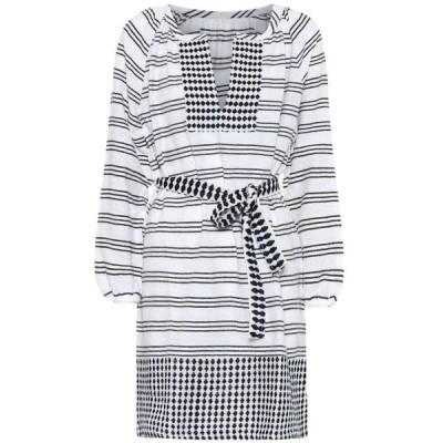 レムレム Lemlem レディース ワンピース ワンピース・ドレス Tigist cotton-blend minidress MidnightBlue C1