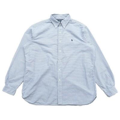 ポロラルフローレン ワンポイントロゴ ボタンダウンシャツ サイズ表記:XL