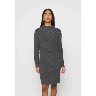 ジェイディーワイ ワンピース レディース トップス JDYABIA DRESS - Jumper dress - dark grey melange