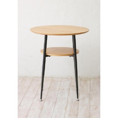 クラッシエ カフェテーブル リビングテーブル カウンターテーブル お洒落 収納 ash&black design アッシュ 木製 ブラック シンプル ベーシック ナ