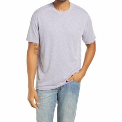 トミー バハマ TOMMY BAHAMA メンズ Tシャツ トップス Flip Tide Reversible T-Shirt Paisley Purple
