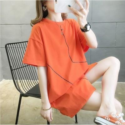 春夏新作 ファッション/人気Tシャツ グリーン/ホワイト/オレンジ3色展開