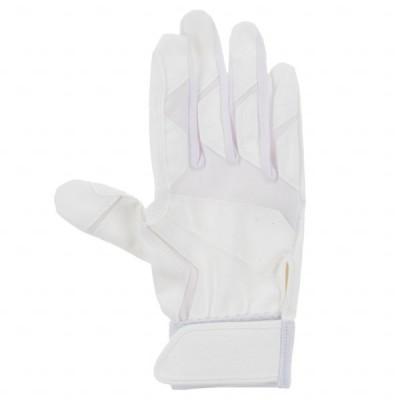 ティゴラ 野球 バッティング手袋 高校野球対応 右手 TR-8BA1019R : ホワイト TIGORA
