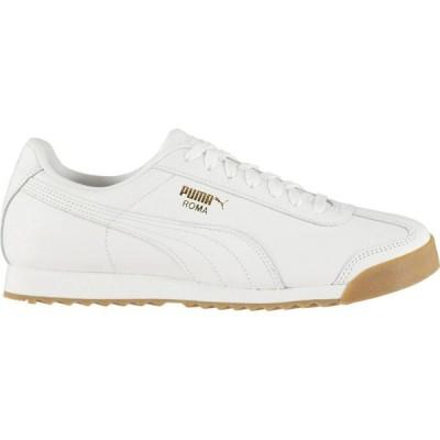 プーマ Puma メンズ スニーカー シューズ・靴 Roma Classic Gum Trainers White/Gold