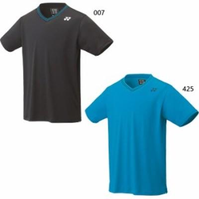 ヨネックス メンズ レディース ユニゲームシャツ フィットスタイル テニス バドミントンウェア トップス 半袖Tシャツ 送料無料 YONEX 103