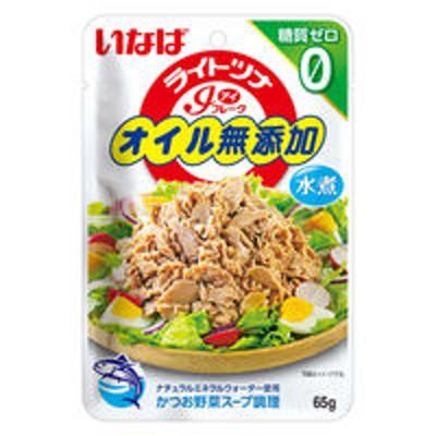 いなば食品いなば食品 ライトツナアイフレークオイル無添加 糖質ゼロ 1セット(2個入)