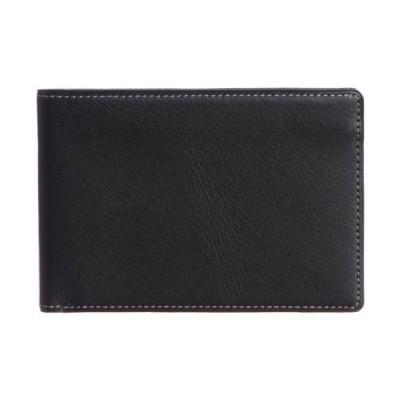 [スインリー] 財布 メンズ 二つ折り 薄型 日本製 EWSLBS01 ブラック