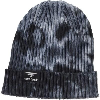 [フォーキャスト] 防寒用帽子 リブワッチ ブラック フリー