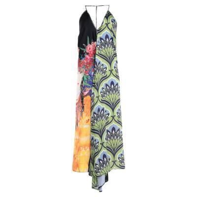 レリッシュ RELISH 7分丈ワンピース・ドレス ライトグリーン S ポリエステル 100% 7分丈ワンピース・ドレス