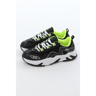 エムエスジーエム スニーカー ダッドスニーカー シューズ 靴 メンズ 2840MS7001 140 ブラック 2020年春夏新作 MSGM