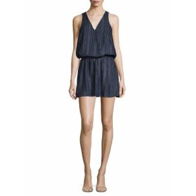 パーカー レディース ワンピース Wrap-Front Blouson Dress