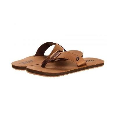 Reef リーフ メンズ 男性用 シューズ 靴 サンダル Reef Leather Smoothy - Bronze/Brown