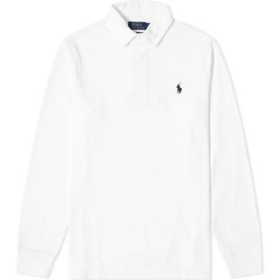 ラルフ ローレン Polo Ralph Lauren メンズ ポロシャツ トップス rugby shirt Classic Oxford White