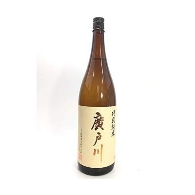日本酒福島県 岩瀬郡 松崎酒造店 廣戸川 (ひろとがわ) 特別純米酒 1800ml通常便発送