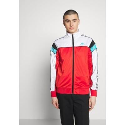 カッパ メンズ ジャケット&ブルゾン アウター BANDA MEREZ SLIM - Training jacket - red/white/black/turquoise red/white/black/turqu