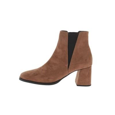 EMODA / スクエアショートチェルシーブーツ WOMEN シューズ > ブーツ