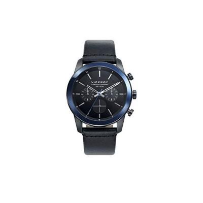Viceroy Men's Chronograph Quartz Watch with Leather Strap 46725-57 並行輸入品