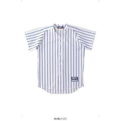 ゼット ZETT ジュニアストライプメッシュユニフォームシャツ BU521J TOP種目別スポーツ野球ユニフォーム ジュニア ユニフォーム シャツ メンズ男性紳士キッ