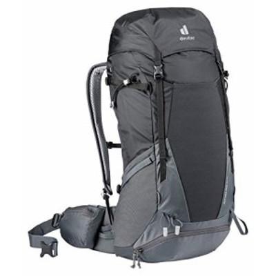 deuter Unisex Adults Futura Pro 42 EL Hiking Backpack Black Black Graphite 42 L並行輸入品
