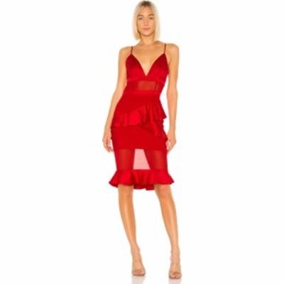 ラヴァーズフレンズ Lovers + Friends レディース ワンピース ワンピース・ドレス Sadie Dress Flame Scarlet