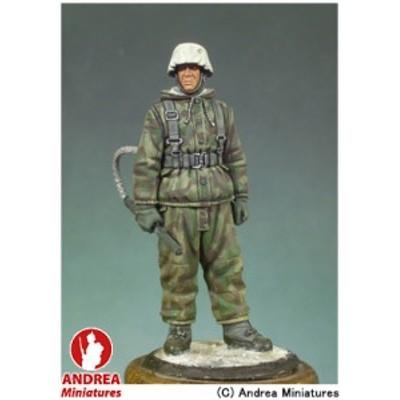 アンドレア・ミニチュアズ ANDREA MINIATURES 第二次世界大戦 54mm S5-F9 火炎放射器を着用したドイツ兵 玩具