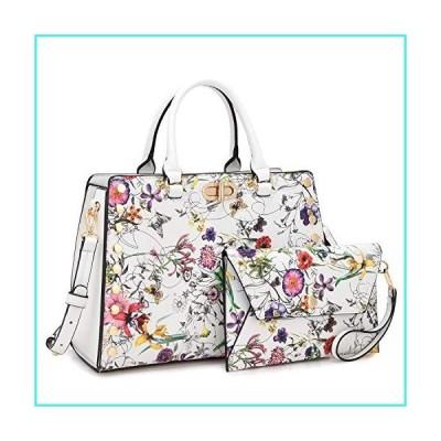 【新品】Dasein Purses and Handbags for Women Satchel Bags Top Handle Shoulder Bag Work Tote Bag With Matching Wallet(並行輸入品)