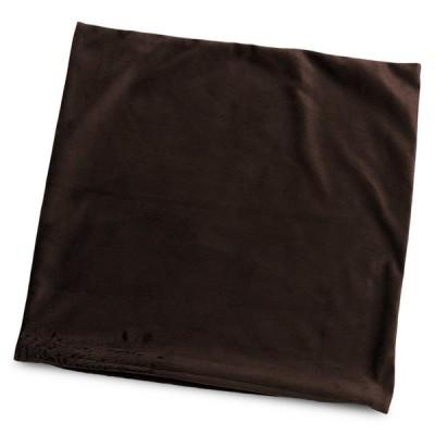 クッションカバー 約45×45cm マイクロシールボア ブラウン 日本製 起毛 茶系 45角 背あて セアテ 背当て 腰当て 腰あて ランバーサポート 日本製