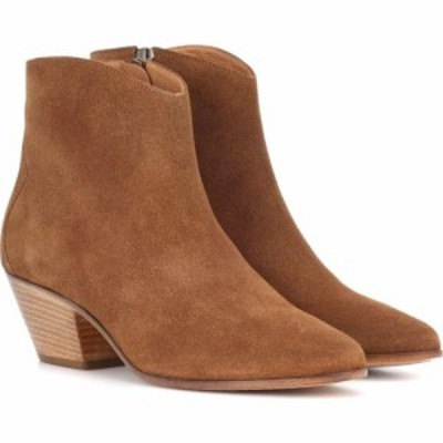 イザベル マラン Isabel Marant レディース ブーツ ショートブーツ シューズ・靴 Dacken suede ankle boots Cognac