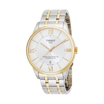 腕時計 ティソ メンズ T0994072203800 Tissot Men's Chemin Des Tourelles Swiss-Automatic Watch with Stai