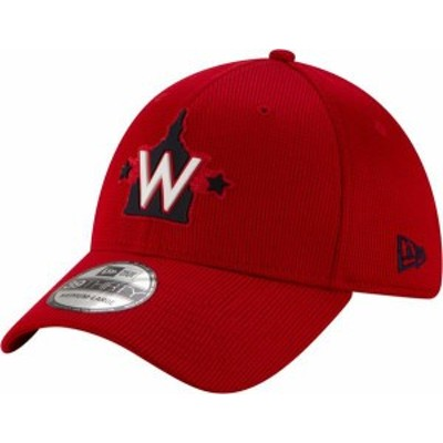 ニューエラ メンズ 帽子 アクセサリー New Era Men's Washington Nationals Red 39Thirty Clubhouse Stretch Fit Hat