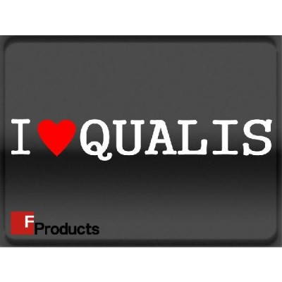 Fproducts アイラブステッカー/QUALIS/アイラブ クオリス
