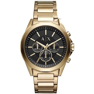 アルマーニエクスチェンジ 腕時計 メンズ ドレクスラー ブラック AX2611 ARMANI EXCHANGE
