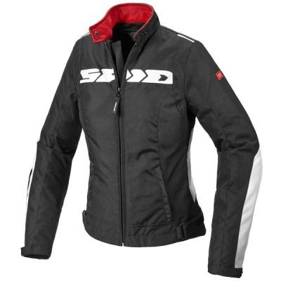 Spidi(スピーディ) Solar H2out ジャケット アウター ライダース ツーリング バイク 肩肘プロテクター付 レディース 防水 ホワイト