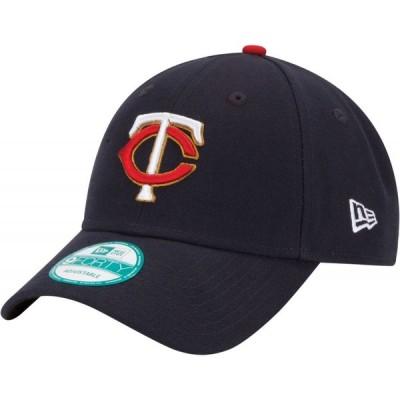 ニューエラ New Era メンズ キャップ 帽子 Minnesota Twins 9Forty Navy Adjustable Hat