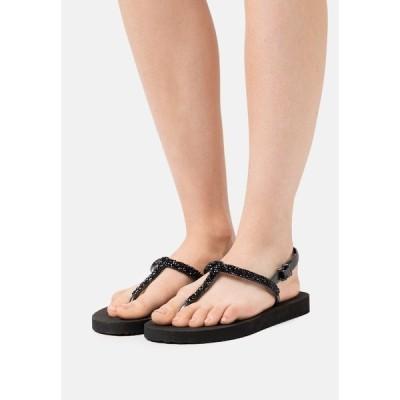 フィット フロップ  サンダル レディース シューズ SPARKLE - T-bar sandals - black