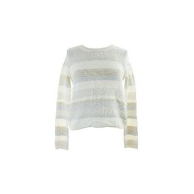 Kiind Of Women's Faith Tribal Sweater (Large, Off White/Multi)並行輸入品 送料無料