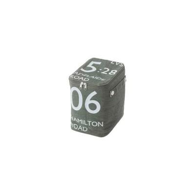 東谷 ストレージボックス(ハーフ) FKG-259GR(W18×D26×H23cm)