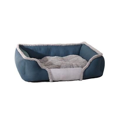 武田芳子CTL ペットベッド犬ベッド 猫ベッド 洗える 防湿 小中大型ペットクッション 四季用ベッド犬猫用 (S, ブ?