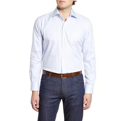 ピーター・ミラー メンズ シャツ トップス Hibriten Microcheck Button-Up Shirt PALMER PIN
