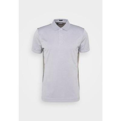 メンズ スポーツ用品 JOSH SLIM FIT GOLF - Sports shirt - stone grey melange