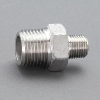 エスコ(ESCO) R 3/8 x R 1/8   異径ニップル(ステンレス製) EA469AW-3AA