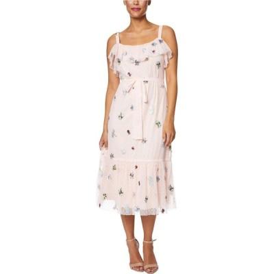 ベッツィ ジョンソン Betsey Johnson レディース ワンピース ワンピース・ドレス Frilly Bugs Dress Bare Essential Multi