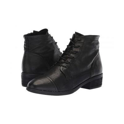Comfortiva コンフォーティヴァ レディース 女性用 シューズ 靴 ブーツ レースアップ 編み上げ Cordia - Black Oleoso