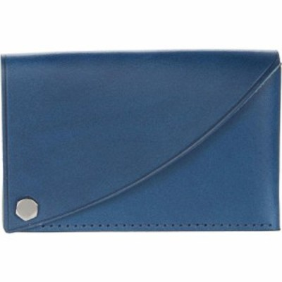 ボスカ Bosca メンズ カードケース・名刺入れ Flipper Card Case Blue