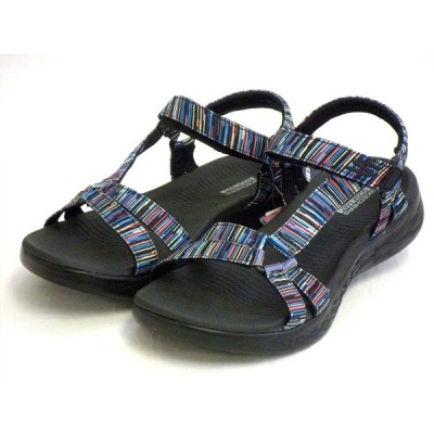 スケッチャーズ ゴーウォーク サンダル SKECHERS GO WAL Sandals 140013 BKMT